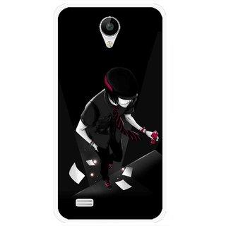 Snooky Printed Hep Boy Mobile Back Cover For Vivo Y22 - Black