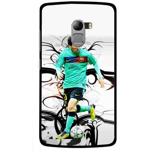 Snooky Printed Football Champion Mobile Back Cover For Lenovo K4 Note - Multicolour