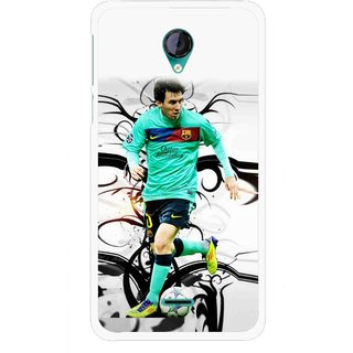Snooky Printed Football Champion Mobile Back Cover For Micromax Canvas Unite 2 - Multicolour