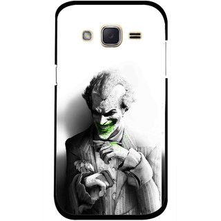 Snooky Printed Wilian Mobile Back Cover For Samsung Galaxy j2 - White