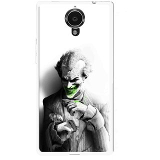 Snooky Printed Wilian Mobile Back Cover For Gionee Elife E7 - White