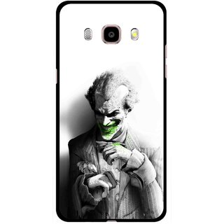 Snooky Printed Wilian Mobile Back Cover For Samsung Galaxy J5 (2017) - White
