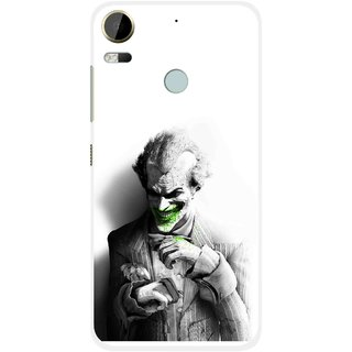 Snooky Printed Wilian Mobile Back Cover For HTC Desire 10 Pro - White
