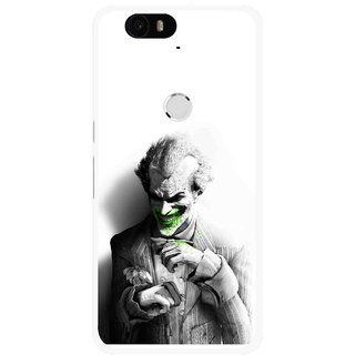 Snooky Printed Wilian Mobile Back Cover For Huawei Nexus 6P - White