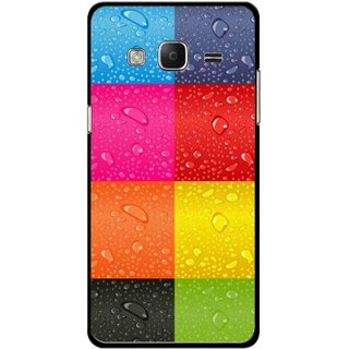 Snooky Printed Water Droplets Mobile Back Cover For Samsung Tizen Z3 - Multicolour