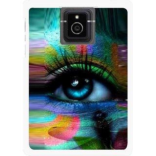 Snooky Printed Designer Eye Mobile Back Cover For Blackberry Passport - Multicolour