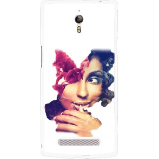 Snooky Printed Vintage Girl Mobile Back Cover For Oppo Find 7 - Multicolour