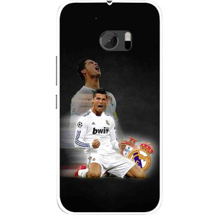 Snooky Printed Football Champion Mobile Back Cover For HTC One M10 - Multicolour