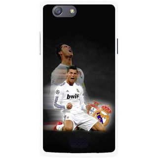 Snooky Printed Football Champion Mobile Back Cover For Oppo Neo 5 - Multicolour