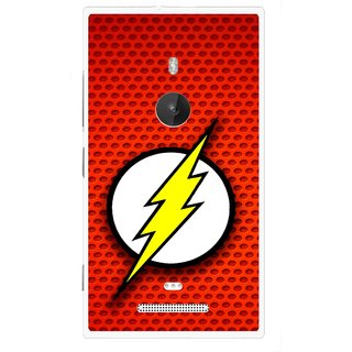 Snooky Printed Dont Touch Mobile Back Cover For Nokia Lumia 925 - Multi