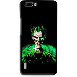 Snooky Printed Daring Joker Mobile Back Cover For Huawei Honor 6 Plus - Multi