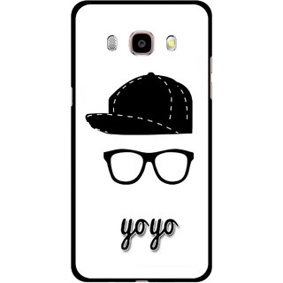 Snooky Printed Yo Yo Mobile Back Cover For Samsung Galaxy J7 (2016) - Multicolour