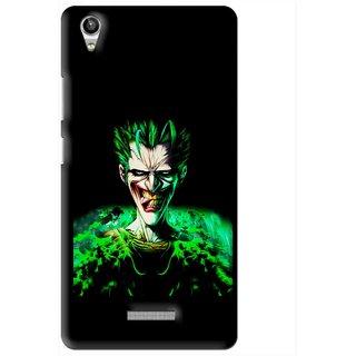 Snooky Printed Daring Joker Mobile Back Cover For Lava Pixel V1 - Multi