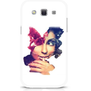 Snooky Printed Vintage Girl Mobile Back Cover For Samsung Galaxy 8552 - Multicolour
