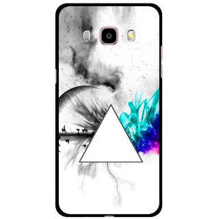 Snooky Printed Math Art Mobile Back Cover For Samsung Galaxy J5 (2016) - Multicolour