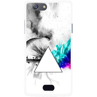 Snooky Printed Math Art Mobile Back Cover For Oppo Neo 5 - Multicolour