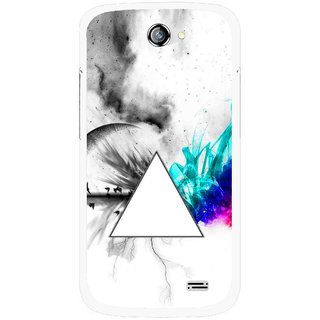 Snooky Printed Math Art Mobile Back Cover For Gionee Pioneer P2 - Multicolour