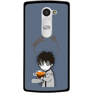 Snooky Printed Need Rest Mobile Back Cover For Lg Leon - Blue