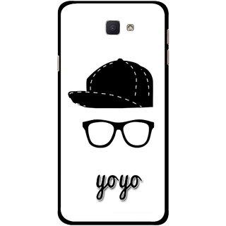 Snooky Printed Yo Yo Mobile Back Cover For Samsung Galaxy J7 Prime - Multicolour