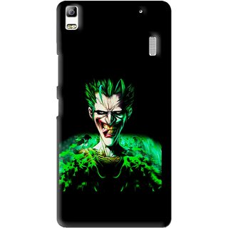 Snooky Printed Daring Joker Mobile Back Cover For Lenovo A7000 - Multi