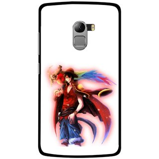 Snooky Printed Free Mind Mobile Back Cover For Lenovo K4 Note - Multicolour