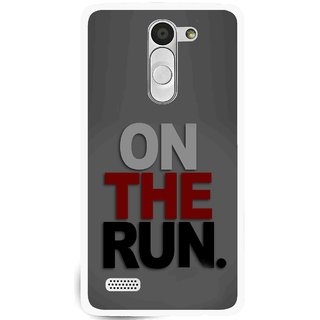 Snooky Printed On The Run Mobile Back Cover For Lg L Fino - Multi