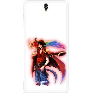 Snooky Printed Free Mind Mobile Back Cover For Sony Xperia C5 - Multicolour