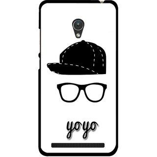 Snooky Printed Yo Yo Mobile Back Cover For Asus Zenfone Go ZC451TG - Multicolour