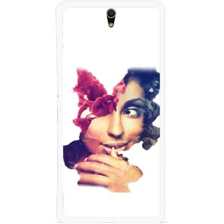 Snooky Printed Vintage Girl Mobile Back Cover For Sony Xperia C5 - Multicolour