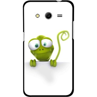 Snooky Printed Seeking Alien Mobile Back Cover For Samsung Galaxy G355 - White