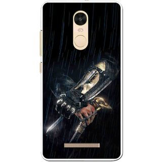 Snooky Printed The Thor Mobile Back Cover For Gionee S6s - Black