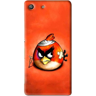 Snooky Printed Wouded Bird Mobile Back Cover For Sony Xperia M5 - Multi