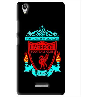 Snooky Printed Football Club Mobile Back Cover For Lava Pixel V1 - Multi