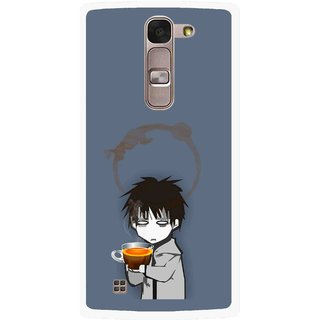 Snooky Printed Need Rest Mobile Back Cover For Lg Spirit - Blue