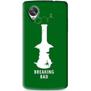 Snooky Printed Breaking Bad Mobile Back Cover For Lg Google Nexus 5 - Multi
