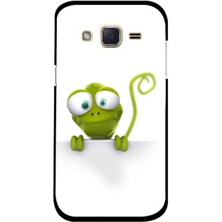 Snooky Printed Seeking Alien Mobile Back Cover For Samsung Galaxy j2 - White