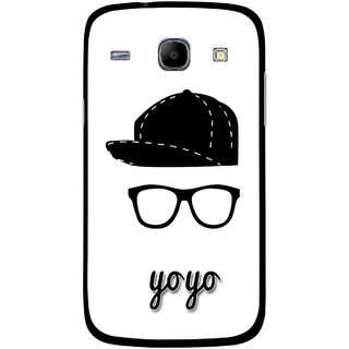 Snooky Printed Yo Yo Mobile Back Cover For Samsung Galaxy Core - Multicolour