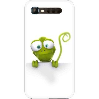 Snooky Printed Seeking Alien Mobile Back Cover For Intex Aqua Y2 Pro - White