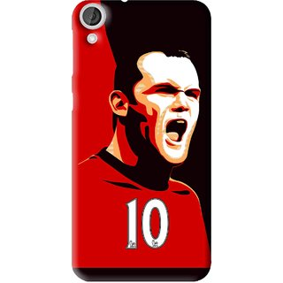 Snooky Printed Sports ManShip Mobile Back Cover For HTC Desire 820 - Multi