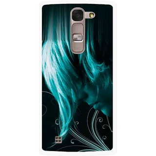 Snooky Printed Mistery Boy Mobile Back Cover For Lg Spirit - Black