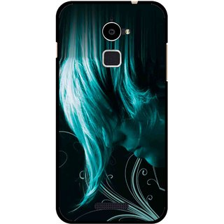 Snooky Printed Mistery Boy Mobile Back Cover For Coolpad Note 3 Lite - Black