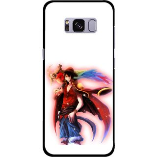 Snooky Printed Free Mind Mobile Back Cover For Samsung Galaxy S8 Plus - Multicolour