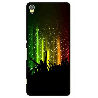 Snooky Printed Party Time Mobile Back Cover For Sony Xperia XA - Multicolour