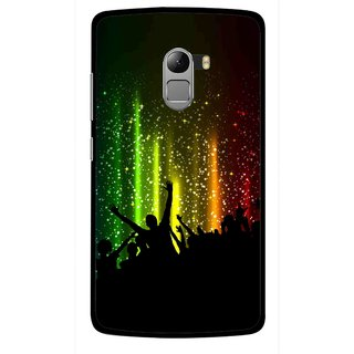 Snooky Printed Party Time Mobile Back Cover For Lenovo K4 Note - Multicolour