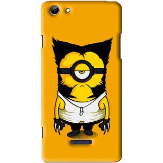 Snooky Printed One Eye Mobile Back Cover For Micromax Canvas Selfie 3 Q348 - Multi