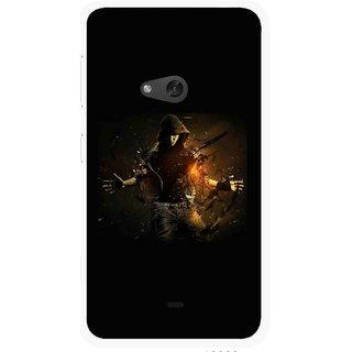 Snooky Printed Dancing Boy Mobile Back Cover For Nokia Lumia 625 - Multicolour