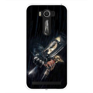 Snooky Printed The Thor Mobile Back Cover For Asus Zenfone 2 Laser ZE500KL - Black