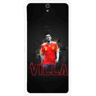 Snooky Printed Sports Villa Mobile Back Cover For Sony Xperia C5 - Multicolour