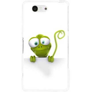 Snooky Printed Seeking Alien Mobile Back Cover For Sony Xperia Z3 Compact - White