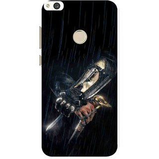 Snooky Printed The Thor Mobile Back Cover For Huawei Honor 8 Lite - Black